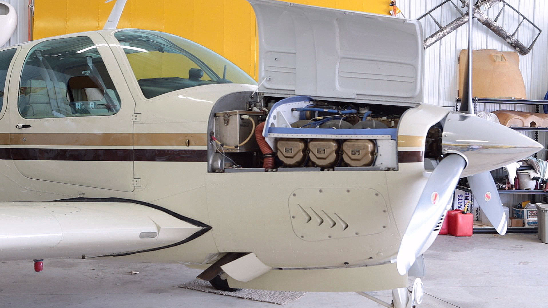 Proper care and maintenance of aircraft exhaust systems is essential.