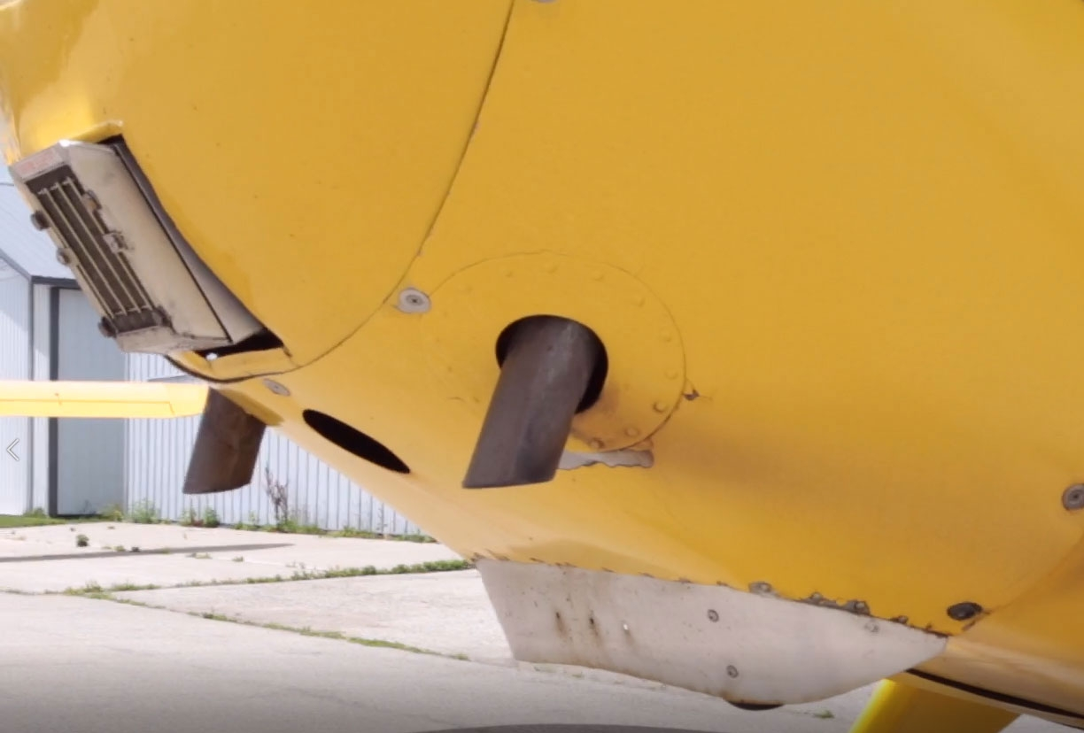 A high-quality and fully functioning exhaust system will do its part to keep carbon monoxide and other toxic gases out of your aircraft.
